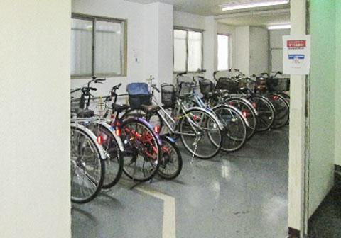 物件チェック01・壱番館・駐輪場